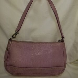 B8,093 Coach Lilac Leather Shoulder Bag